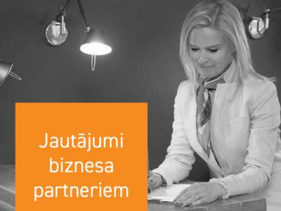 Jautājumi biznesa partneriem